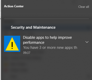 DisableApps